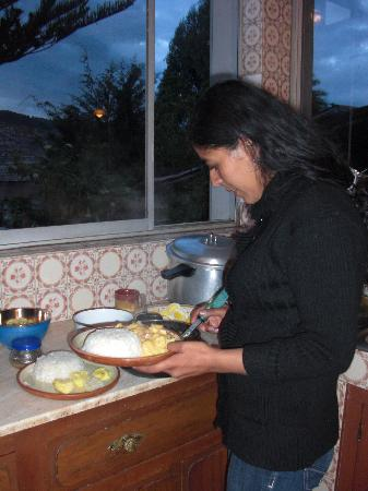 Panza del Artista: Cooking course with Anji