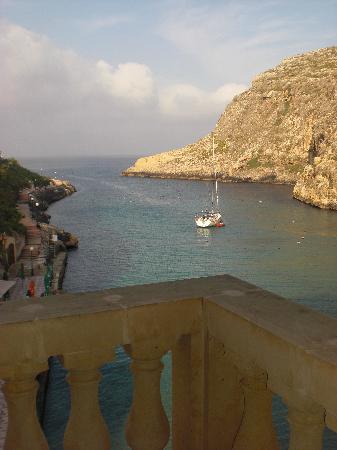San Andrea Hotel: View from bedroom balcony
