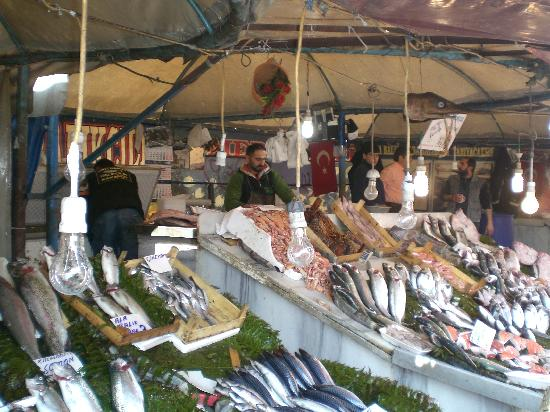 Hippodrome Hotel: fish market