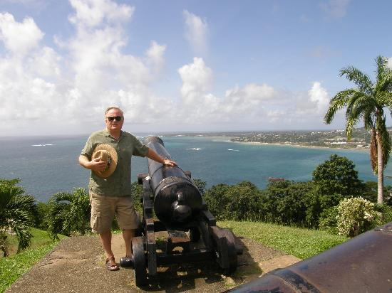 Cannon at Fort King George, Tobago