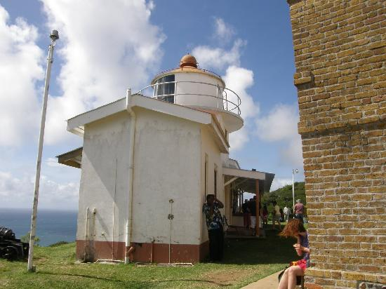 Scarborough, Tobago: Lighthouse at Fort King George, Tobago