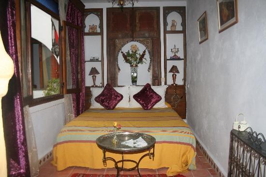 Dar Meziana: dormitorio
