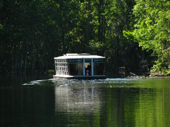 Silver Springs, Floride : main boat tour