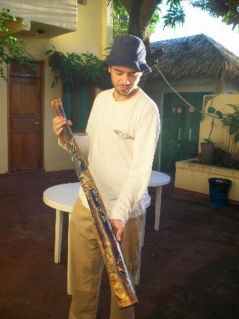 Hostel Manaus: dejeridoo del dueño del hostal