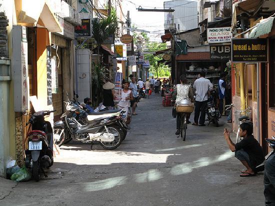 Kim Hotel: Rue du Kim Hôtel à Saïgon