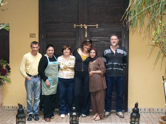 Riad Aguaviva: Con Manel, Zaida i Latifa