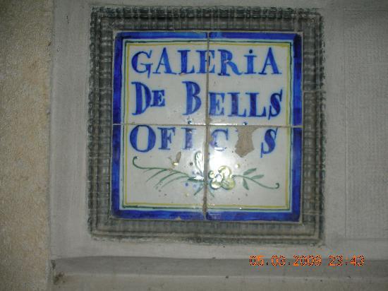 Bells Oficis: la targa del B&B