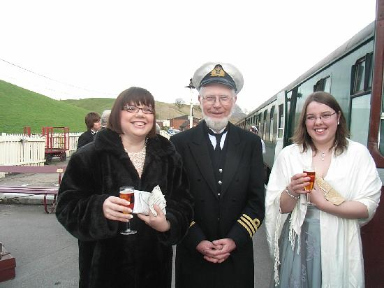 Churnet Valley Railway: Captain Smith welcomes you aboard