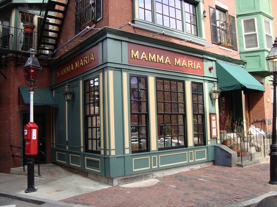 Photo of Italian Restaurant Mamma Maria at 3 North Sq, Boston, MA 02113, United States