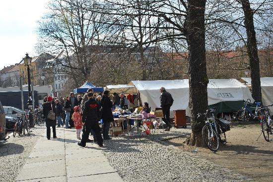Hotel Greifswald: the little flea market