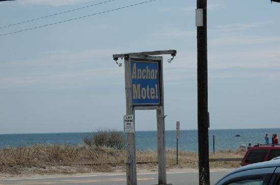 The Anchor Motel : view from motel