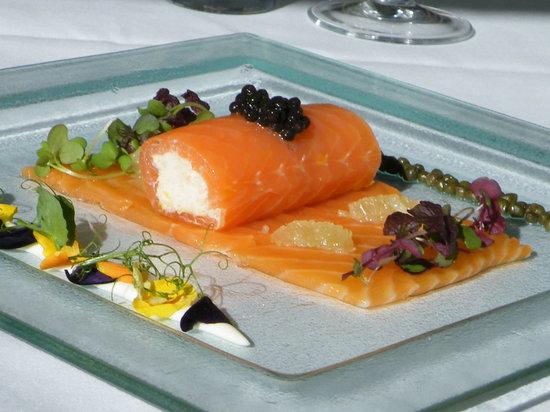 La Bocca: smoked salmon