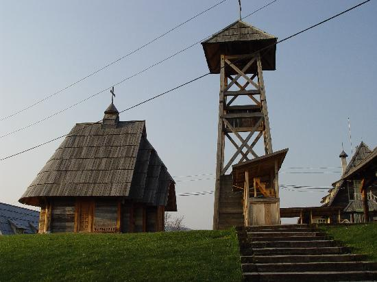 Mokra Gora, Serbia: Museumsdorf Drvengrad