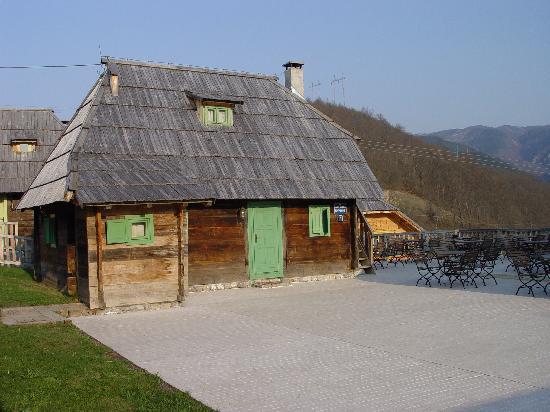 Mokra Gora, Serbia: Hotelzimmer