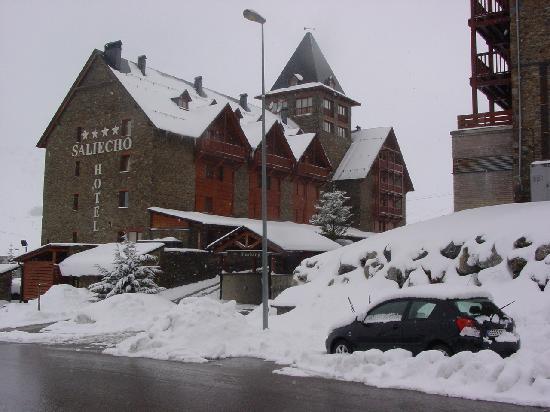 Hotel Saliecho : Exteriores del Hotel