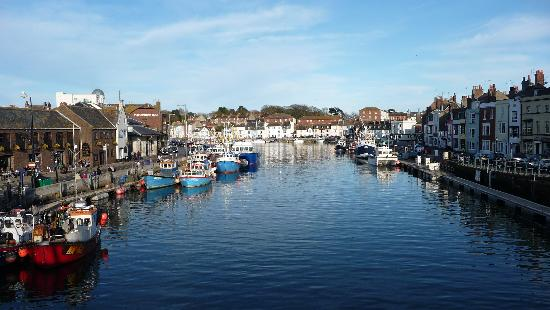 The Ocean Guest House B&B: View of harbour from town bridge
