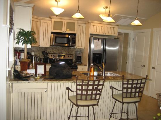 Plantation at Princeville : I loved the kitchen, anything you could need was there!