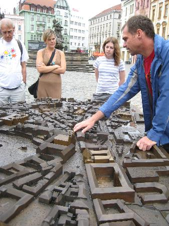Poets Corner Hostel Olomouc: Walking tour in Olomouc with Greg