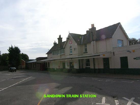 Isle of Wight, UK: local train
