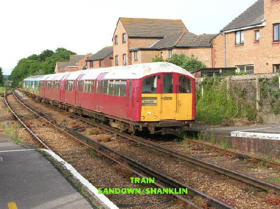 Isle of Wight, UK: Train to Shanklin