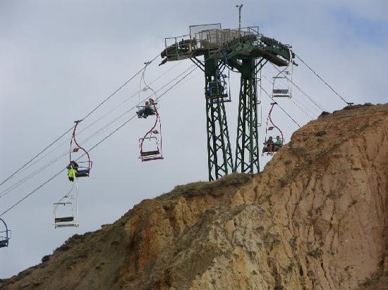 Wyspa Wight, UK: Cable Car Back Up