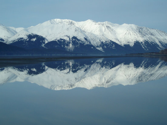 Anchorage, AK: Chugach Mountains - Reflection