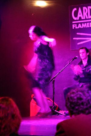 Cardamomo Tablao Flamenco: Belen Lopez Dances At Cardamomo Cafe