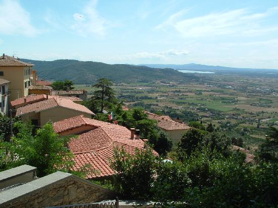 View from Villa Marsili bedroom