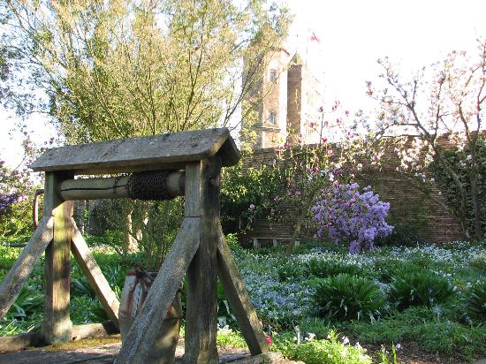Sissinghurst, UK: The mediaeval walled garden with well