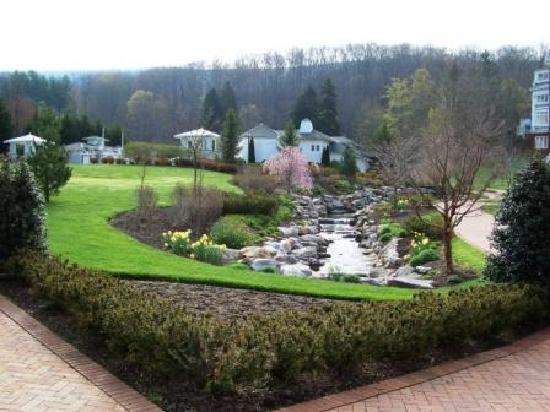 The Omni Homestead Resort: More gardens