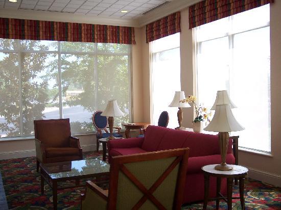 Hilton Garden Inn Newport News: Lobby sitting area