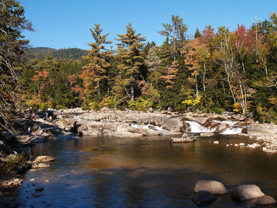 North Conway, NH : Lower Falls, Kancamagus Highway