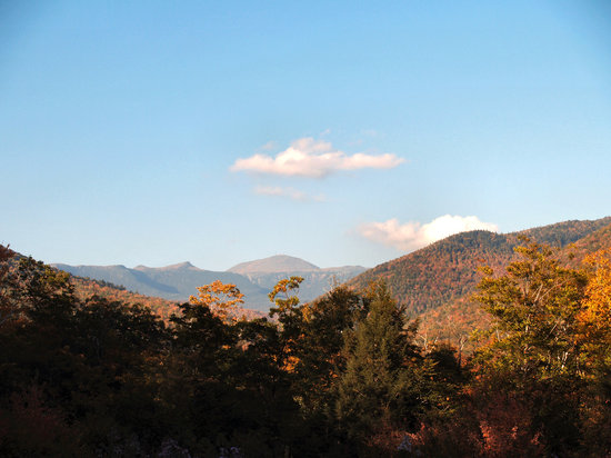 Nueva Hampshire: Nount washington from the Crawford Notch road