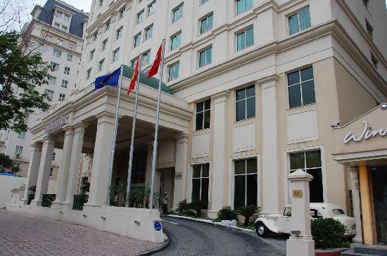 Movenpick Hotel Hanoi: Main entrance
