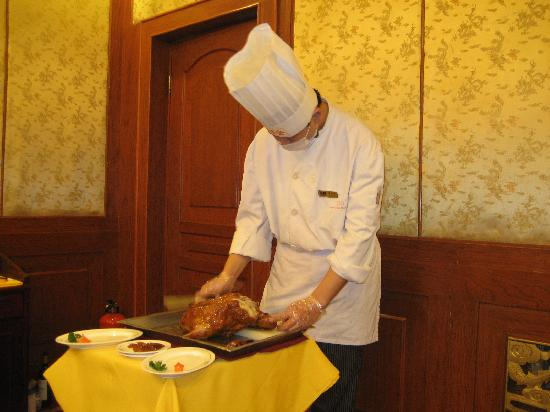 Quanjude Roast Duck (Wangfujing): Surgeon precision