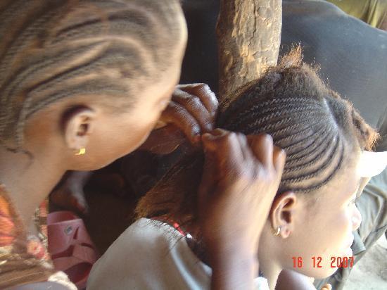 Sierra Leone: Coiffeur