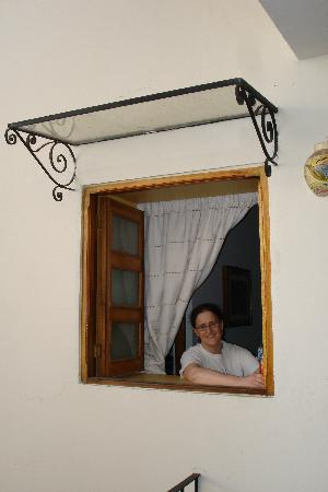 Hotel Parador San Agustin: Suite Window