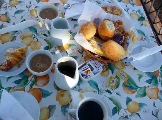 Hotel La Tosca: Breakfast
