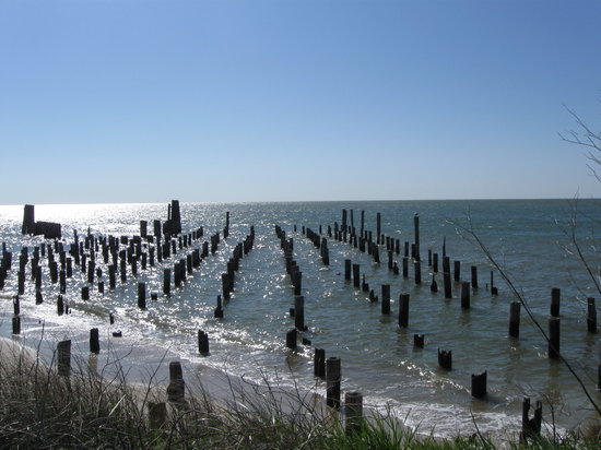 Cape Charles, VA: Around the corner