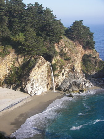 Big Sur, Kaliforniya: Julia Pfeiffer Burns State Park