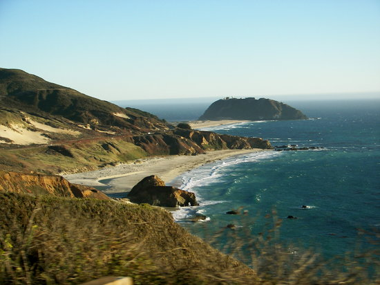 Big Sur, Californien: From Highway 1