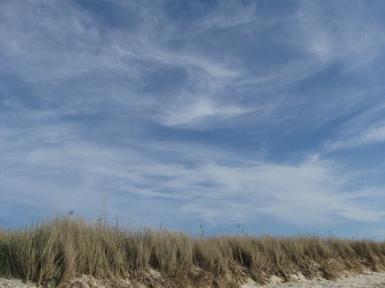 Cape Charles, VA: Beach sky
