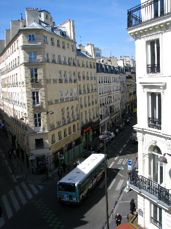Jeff Hotel- Paris: View from our room