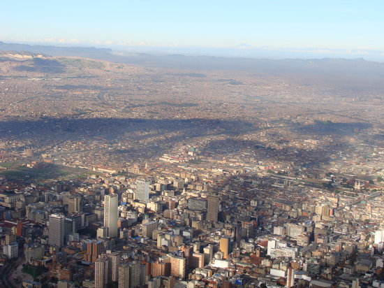 Bogota, Kolumbia: view from Monserrate