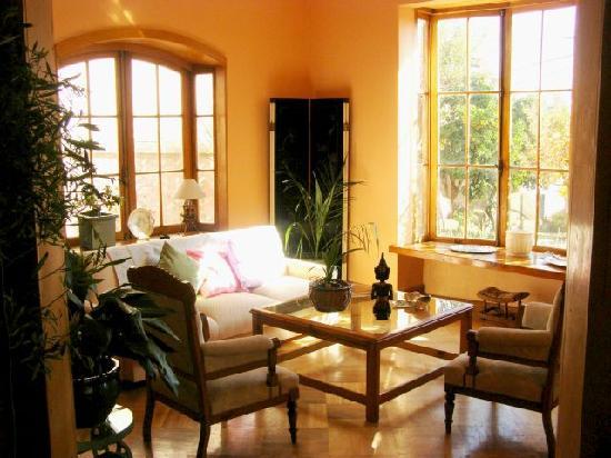 Hotel Genross: Reception Living Room
