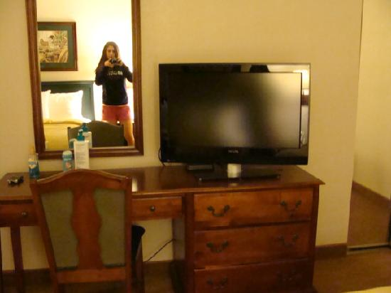 Homewood Suites by Hilton Richmond-West End: Another flatscreen in the bedroom