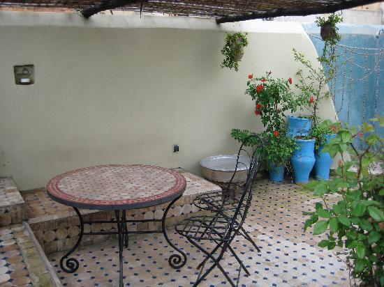 Dar el Ma: The rooftop