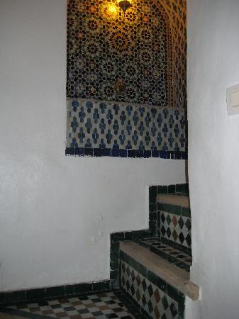 Dar el Ma: One of the staircases