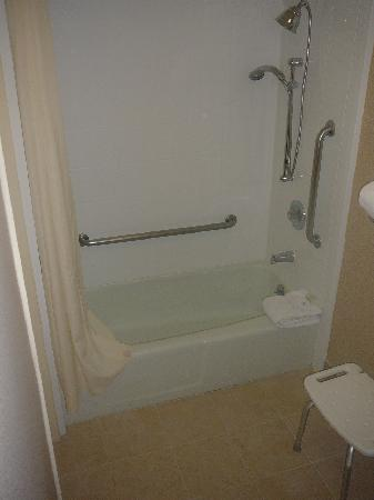 Holiday Inn Secaucus Meadowlands: Bathroom Shower Stall