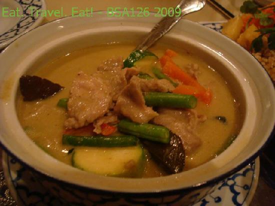 President Thai Restaurant: Green Curry